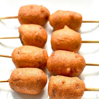 Smoked Sausage Corn Dogs.