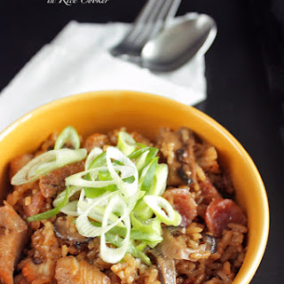 Clay Pot Chicken Rice in Rice Cooker
