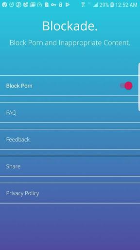 Blockade - Block Porn & Inappropriate Content screenshot 4