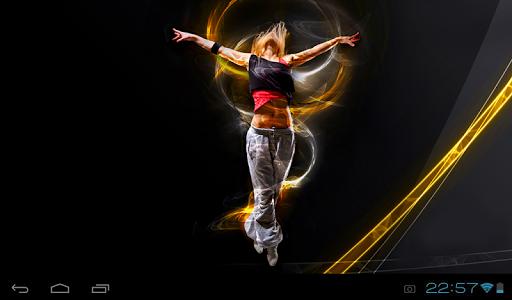 Dancing In Light LiveWallpaper