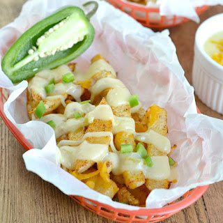Triple Cheese Jicama Fries