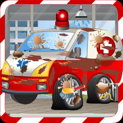 Car Wash Games -Ambulance Wash filehippodl screenshot 2