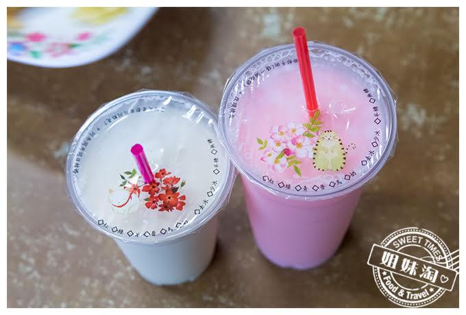 夏一跳早餐店草莓牛奶