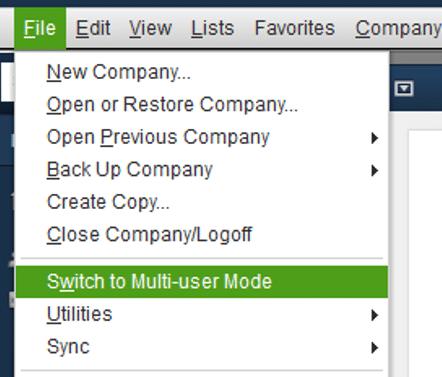 Switch to multi-user mode - Screenshot Image