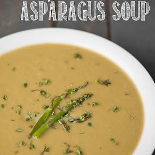 Pressure Cooker Asparagus Soup.