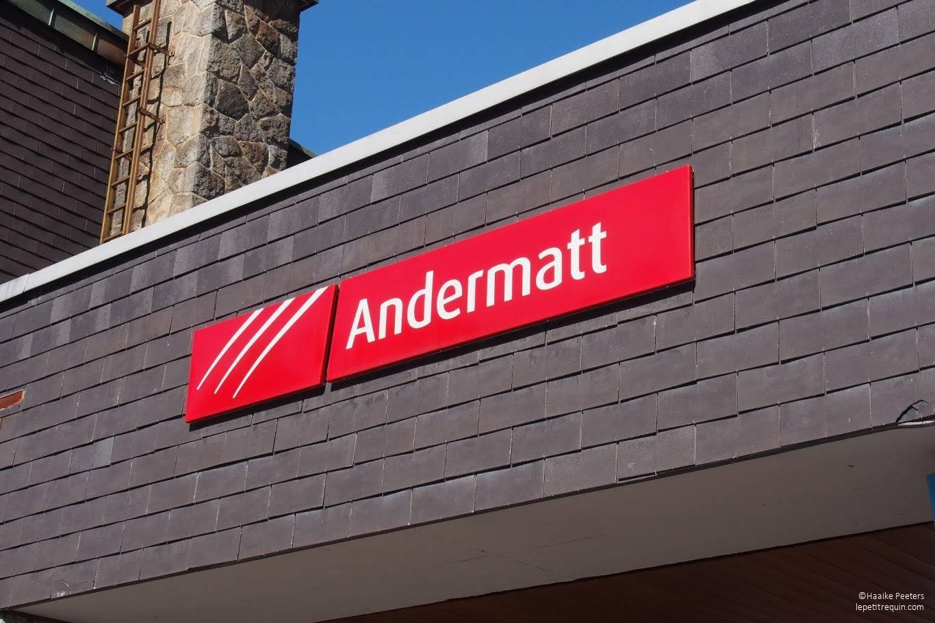 Bahnhof Andermatt (Le petit requin)