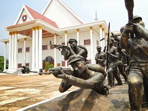 Photo: Pathet Lao Statues