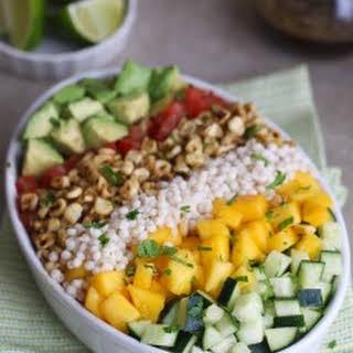Couscous Mango Corn Salad.