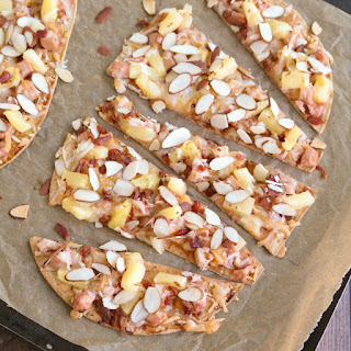 Sweet and Sour Chicken Flatbread Pizza.