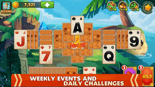 Solitaire - Island Adventure - Tripeaks 2.2.4 screenshots 7