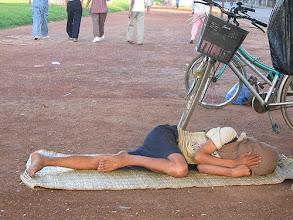 Photo: Street bed