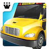 Super High School Bus Driving Simulator 3D - 2018