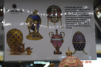Photo: For de som ville var det bare å kjøpe Faberge egg, men det ble nok kopier