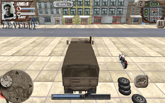 Russian Crime Truck Theft- screenshot