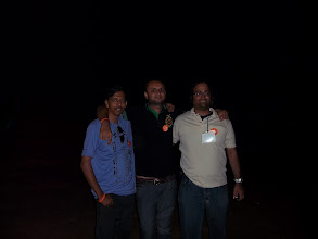 Photo: I, Mitesh and the dude (Vivek)