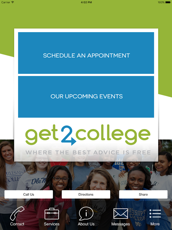 Get2College- screenshot
