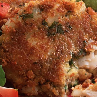 Mexican Corn and Fish Cakes.