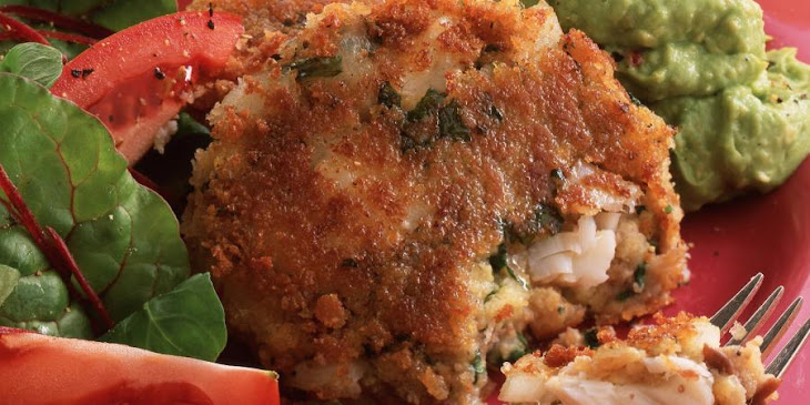 Mexican Corn and Fish Cakes