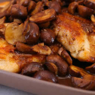 Sauteed Chicken And Mushrooms With Recipes.