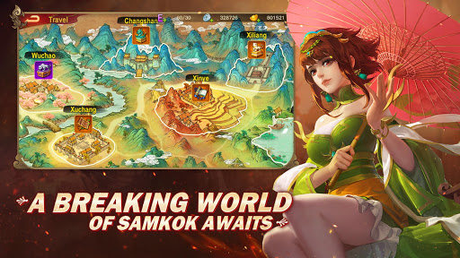 Dynasty Heroes: Legend of SamKok  screenshots 5