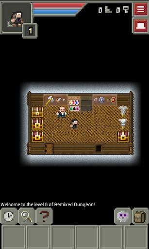 Remixed Dungeon: Pixel Art Roguelike apkdebit screenshots 5