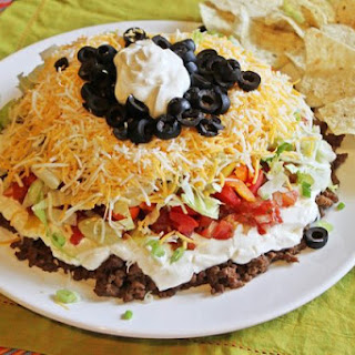 How to Make Seven Layer Taco Dip.