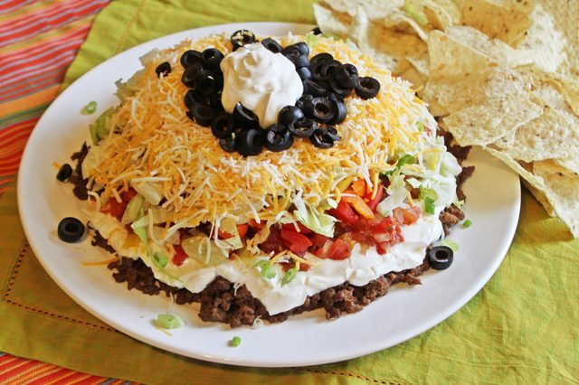 How to Make Seven Layer Taco Dip