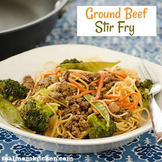 Ground Beef Stir Fry.