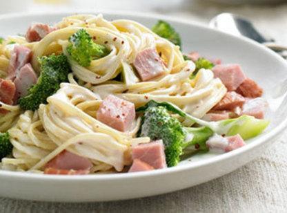 Ham And Spaghetti Alfredo Recipe