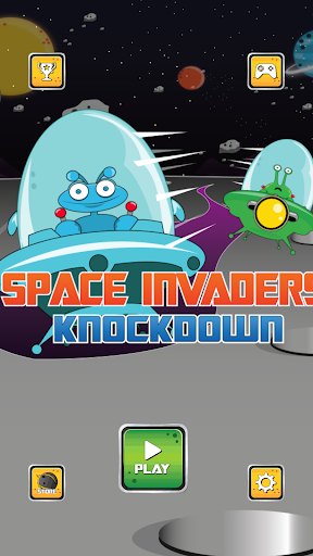 Space Invaders Knockdown Pro