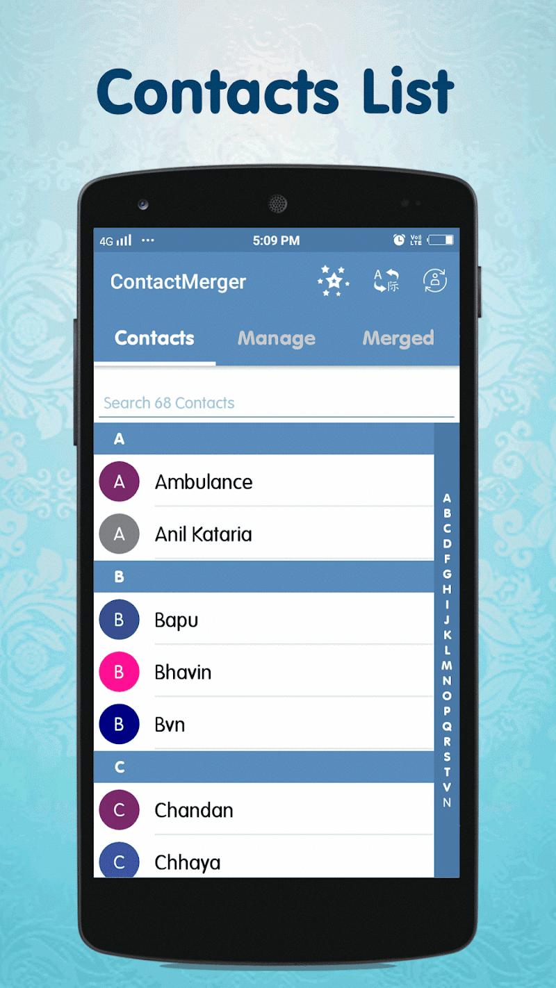 Duplicate Contact Merger Screenshot 2