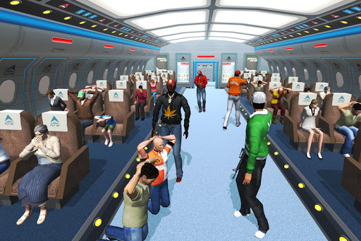 Plane Hijack Game :  Rescue Mission modavailable screenshots 1