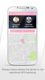 Cowboy Taxi Partner App - náhled