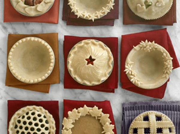 There are different ways of making your pie edges look pretty. One is with...