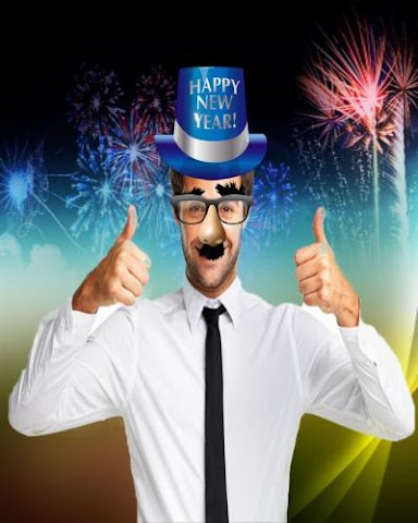android New Year Funny Face Editor Screenshot 2