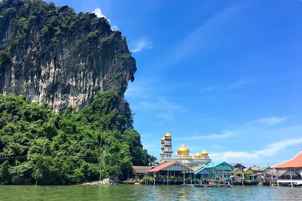 Visit the floating village on Koh Panyee
