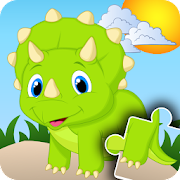 Jigsaw Puzzles for kids - Dinosaurs‏