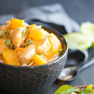 Chicken Pumpkin Thai Curry Recipe