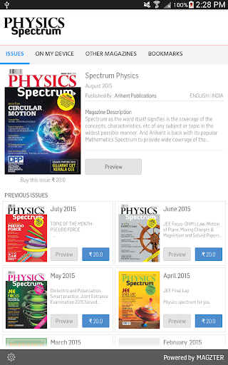 Spectrum Physics