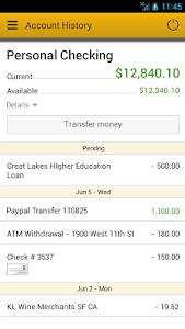 Wood & Huston Bank screenshot 2
