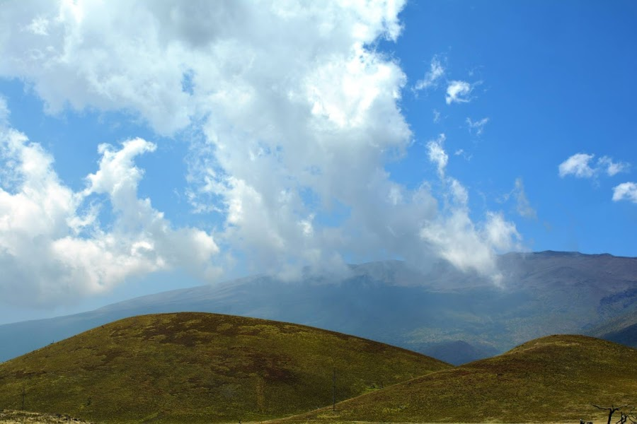Clouds Over Mona Kea by Beth Bowman - Landscapes Caves & Formations (  )