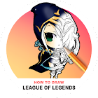 How To Draw League of Legends icon