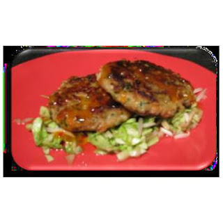 Cod Cakes With Asian Inspired Salad