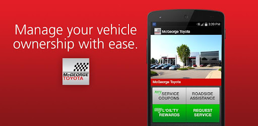 Mcgeorge Toyota Service >> Mcgeorge Toyota Apps On Google Play