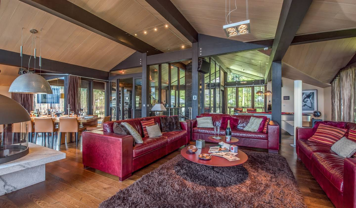 Chalet with panoramic view and terrace Courchevel