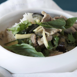 Thai Green Curry with Pork