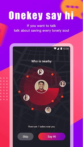 pick me-Girl Live Video Call& Chat app screenshot 4