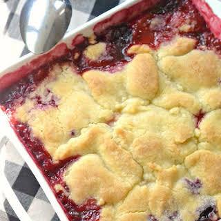 Mixed Berry Cobbler.