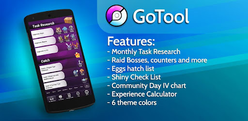 GoTool (Bosses, Research, Eggs, Shiny, CD & more) - Apps on Google Play