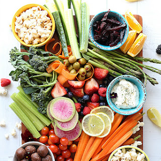 Healthy Snacks Party Platter For Kids.